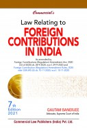 Law Relating to Foreign Contributions in India