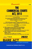 The Commercial Courts, Commercial Division and Commercial Appellate Division of High Courts Ordinance, 2015