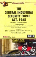 The Central Industrial Security Force Act, 1968