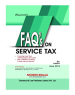 FAQ's on SERVICE TAX