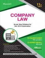 COMPANY LAW   As per New Syllabys for June 2019 Examination