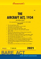 Aircraft Act, 1934 alongwith Rules (as amended in 2009) and Allied Rules