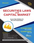 SECURITIES LAWS AND CAPITAL MARKET (As per New Syllabus for Dec. 2019 Examination