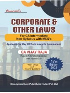 Corporate and Other Laws  For CA Intermediate New Syllabys with MCQ's