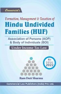 Formation Management & Taxation of HINDU UNDIVIDED FAMILIES (HUF)