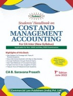 Students' Handbook on Cost and Management Accounting