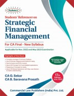Students Referencer On Strategic Financial Management (Old Syllabus)