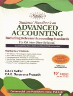 Student Handbook on Advanced Accounting