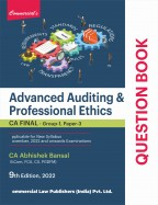 Advanced Auditing & Professional Ethics (Question Book)