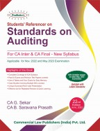 STUDENTS' REFERENCER ON STANDARDS ON AUDITING