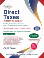 DIRECT TAXES A READY  REFERENCER