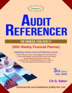 AUDIT REFERENCER  (For Financial Year 2020-21)