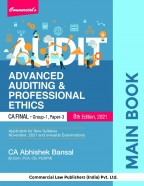 Advanced Auditing & Professional Ethic MAIN BOOK
