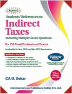Students Referencer on INDIRECT TAXES