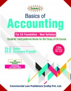 Basic of Accounting  (For CA Foundation)