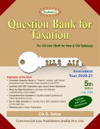 Question Bank for Taxation (for CA Inter Both for New and Old Syllabus)