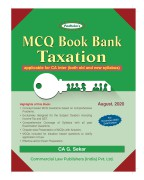 MCQ Book Bank Taxation (applicable for CA Inter (both old and new syllabus