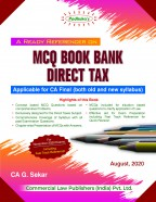 A Ready Referencer on MCQ BOOK BANK DIRECT TAX