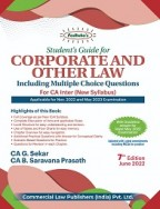 Students' Guide for Corporate and Other Law   for CA Inter New Syllabus