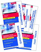 Corporate Law & Allied/Economics Laws With Fast Track, Question Bookk and MCQs Book