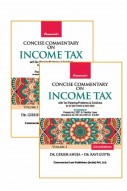 Concise Commentary on Income Tax (Set of 2 Vol.)
