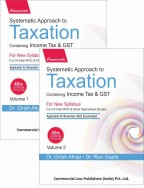 Systematic Approach to Taxation including MCQs (Set of 2 Vols.)