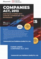 Companies Act, 2013 with Rules & Forms