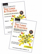 Systematic Approach to Tax Laws & Practice (With MCQs) (Set of 2 Vols)