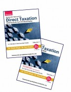 Systematic Approach to Direct Taxation (With MCQs) (Set of 2 Vols)