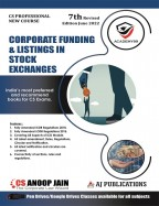 Corporate Funding & Listing in Stock Exchange