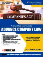 Advance Company Law (Old Syllabus)