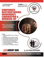 Corporate Restructuring, Insolvency, Liquidation & Winding UP
