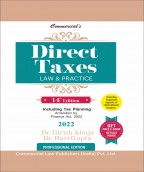 Direct Taxes Law & Practice (PRE-BOOKING)