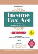 Income Tax Act (Pre-Booking)