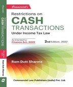 """Restrictions on Cash transactions"""" under Income Tax law"""