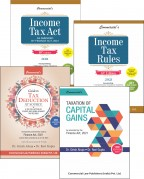 Combo Pack IV (Income Tax Act+Income Tax Rules + Guide to TDS + Taxation of Capital Gains