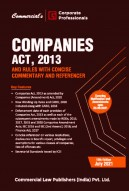 Companies Act, 2013 with Rules & Concise Commentary (Single Vol.)