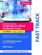 Corporate & Allied/Economic Laws (FAST TRACK CHARTS)