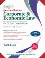 Question Book on CORPORATE & ECONOMIC LAW