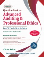 Question Bank Advanced Auditing & Professional Ethics