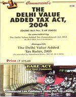 Delhi Value Added Tax Act, 2004 (as amended upto 30th March, 2013