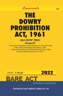 Dowry Prohibition Act, 1961 with Rules