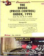 Drugs (Prices Control) Order, 1995 alongwith free CD covering Notifications issued under DPCO from 2007 to 2010